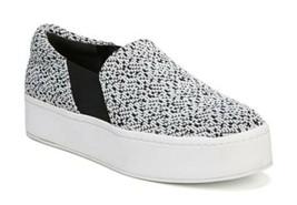Vince Warren Sneakers 8 1/2 Black + White Tweed 8.5 $225 Platform Slip-On NIB - $98.00
