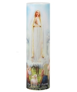 OUR LADY OF FATIMA - LED Flameless Devotion Prayer Candle - $19.95