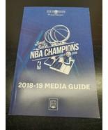 NBA Golden State Warriors 2018-19 Media Guide - $16.57