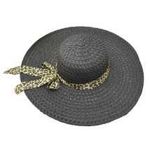 Wide Brim Straw Hat Summer Beach Hats Floppy Fold Straw Sun Hats For Wo... - $10.41