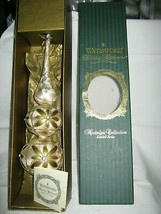 """WATERFORD HOLIDAY HEIRLOOMS NOSTALGIC COLL. KYLEMORE TREE TOPPER 14"""" W BOX - $32.99"""