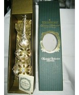 """WATERFORD HOLIDAY HEIRLOOMS NOSTALGIC COLL. KYLEMORE TREE TOPPER 14"""" W BOX - $36.69"""