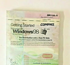 Microsoft Windows 98 - Getting Started -PC only Genuine OEM -Complete and SEALED - $29.00