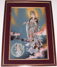Signed Chinese New Year Oriental Huxian JinShan Peasant Art Asian Painti... - $439.99