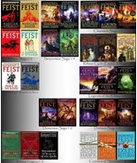 Ramond E. Feist RIFTWAR CYCLE COLLECTION Set of 30 PAPERBACKS Krondor Ch... - $177.99