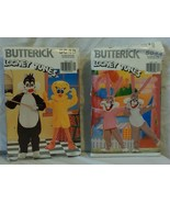 Butterick Looney Tunes Pattern Lot Sylvester Tweety Babs Bugs Bunny - $10.34