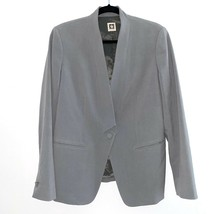 Anne Klein Gray Blazer Jacket 12 Business - $45.59