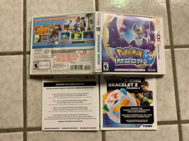 POKEMON Moon 3DS  (**NO GAME**) Replacement Case - $5.00