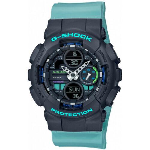 Casio G-Shock S-Series Analog-Digital Black Dial Women's Watch GMA-S140-2ADR - $105.58