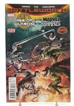 Age of Ultron vs Marvel Zombies #3 Battleworld Secrect Wars Marvel Comics 2015 - $1.67