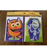 CLEARANCE! Halloween CARDS **6 Greeting CARDS + Envelopes** Hallmark Kid... - $0.99