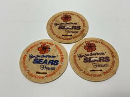 Lot 3 Sears Hawaii  Milk Cap POGS 1993 - $11.88