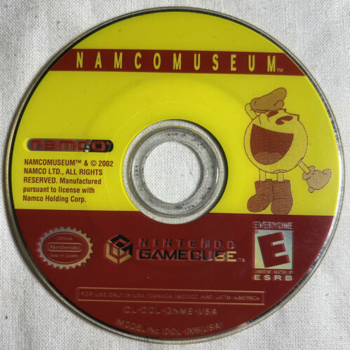 Primary image for Nintendo Gamecube - Namco Museum - 2002 - Preowned Untested