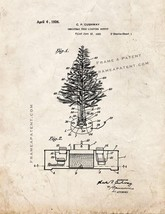 Christmas-tree-lighting Outfit Patent Print - Old Look - $7.95+