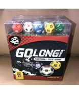 Go Long Football Dice Game Zone Travel Ages 8+ Family Zobmondo Board Ame... - $9.99