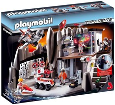 Playmobil 4875 Secret Agent Headquarters with Alarm System  - $182.01
