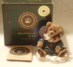 Boyd Bearstone Resin Bears Gwain Love Is The Masterkey Figurine #228317 1E image 3