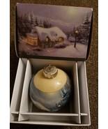 Thomas Kinkade Painter of Light 2011 SEARS Limited Edition Glass Ball Or... - $7.91