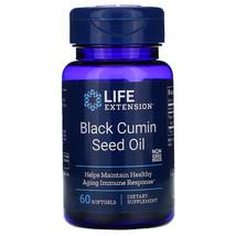 Life Extension, Black Cumin Seed Oil, 60 Softgels - $25.60