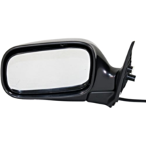 Fits 02-07  Impreza Left Driver Mirror Power Non-Painted Black No Heat - $55.39