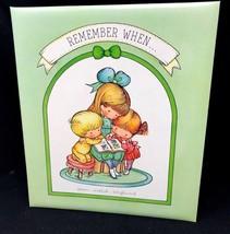 """Remember When"" Baby Book Scrapbook Joan Walsh Anglund 1966 Hallmark NEW... - $49.99"
