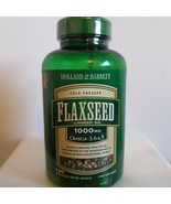 Holland & Barrett Flaxseed Linseed Oil 120 Capsules 1000mg - $24.55
