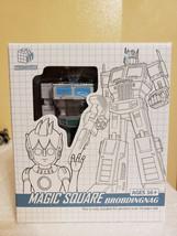 Transformer Magic Square MS-B18W Light of Justice Ultra Magnus White Opt... - $64.99