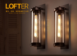 Grand Edison Glass Sconce E27 Light Wall Lamp Home Lighting Fixture  - $189.31
