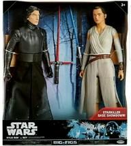 "Star Wars Big Figs Kylo Ren vs. Rey Action Figure 18"" - Starkiller Base ... - $27.32"