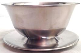 Vintage Stainless Steel Selandia Gravy / Sauce Bowl 18/8 Denmark - $19.95