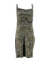 Ann Taylor Women's Black & Brown Animal Print Sleeveless Dress Size 8 - $19.80