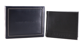 Tommy Hilfiger Men's Leather RFID Fixed Passcase Wallet Billfold 31TL220084 image 14
