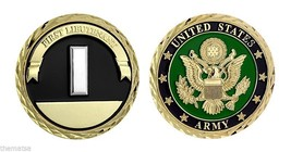 "First Lieutenant Army Seal 1.75"" Military Challenge Coin - $16.24"