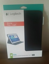 Logitech Ultra thin Folio Case  for Samsung Galaxy Tab 3 10.1 - BLACK - $9.89