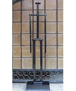 NauticalMart Wooden Display Stand for Suit of Armor - Black - $197.11