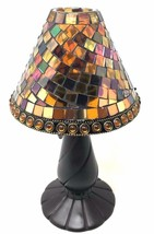 PartyLite Global Fusion Mosaic Tealight Glass Fairy Lamp - $31.49