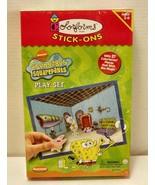2002 Colorforms Stick-Ons- SpongebobSquarepants Playset - $11.87