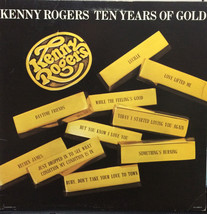 Ten Years Of Gold [Vinyl LP, Brand New] Kenny Rogers - $71.74