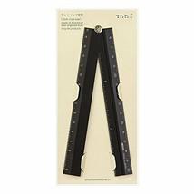 *Green ruler aluminum multi ruler 30cm black 42254006 - $12.89