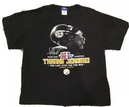 Pittsburgh Steelers Thanks Jerome Bettis Super Bowl XL 2006 T Shirt L - $11.30