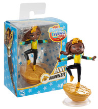 DC Super Hero Girls Vinyl Mini Bumblebee Doll New in Box - $4.88