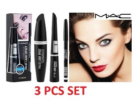MAC False Lash Effect 3 in 1= Mascara, Eyebrow Pencil and Eyeliner. - $9.95
