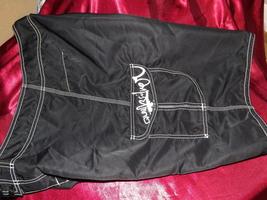 Quiksilver Board Shorts Size 34 Mens Black Manic Swim/Surf - $24.99