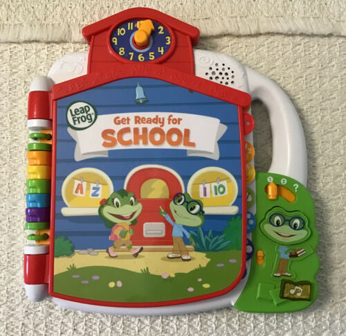 LeapFrog TAD'S GET READY FOR SCHOOL Interactive Storybook - Educational Toy - $17.82