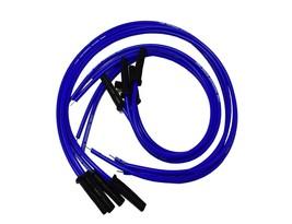 9.5mm Blue Silicone High Performance Spark Plug Wire Set Universal Fit V8 V6 image 2
