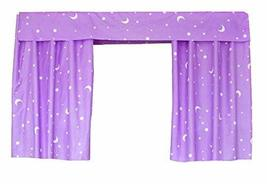 PANDA SUPERSTORE Bed Curtain Dormitory Shading Cloth Dormitory Decoration Purple