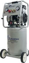 10 Gal 2.0 Ultra Quiet Electric Air Compressor Oilfree Pump Produces Cle... - $648.25