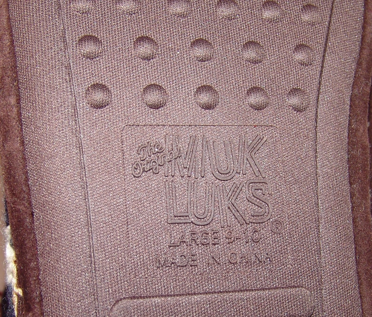 MukLuks Red White Blue Patriotic Boots Large 9 / 10 Womens Stars Fringe Muk Luks