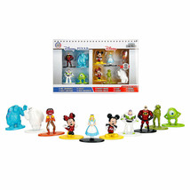 Disney Nano Metalfigs Mini Diecast Metal Figure Toy Set 10 Pack - $17.09