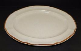 Hearthside Baroque Summer Sun  Pattern Stoneware Serving Platter Plate J... - $28.71